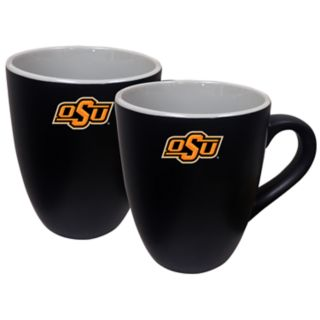 Oklahoma State Cowboys Two-Tone Coffee Mug Set