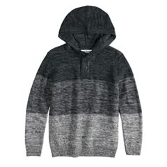 Boys 8-20 Urban Pipeline™ Henley Pull-Over Hoodie Sweater