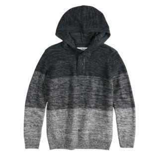 Boys 8-20 Urban Pipeline? Henley Pull-Over Hoodie Sweater