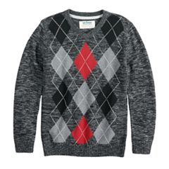 Boys 8-20 Urban Pipeline™ Argyle Sweater