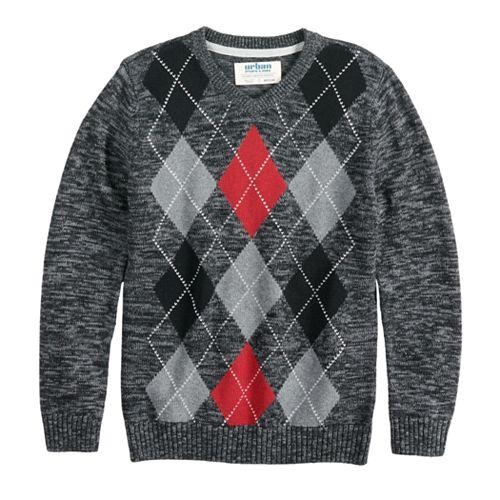 Boys 8-20 Urban Pipeline™ Argyle Sweater