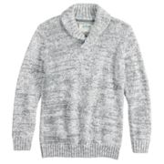 Boys 8-20 Urban Pipeline? Shawl-Collar Pull-Over Sweater
