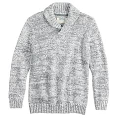 Boys 8-20 Urban Pipeline™ Shawl-Collar Pull-Over Sweater