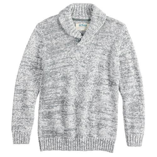 Boys 8-20 Urban Pipeline™ Shawl-Collar Pull-Over Sweater