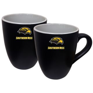 Southern Miss Golden Eagles Two-Tone Coffee Mug Set