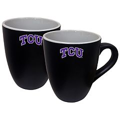 TCU Horned Frogs Two-Tone Coffee Mug Set