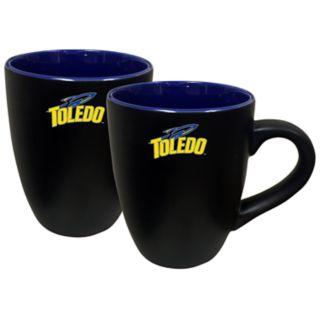 Toledo Rockets Two-Tone Coffee Mug Set