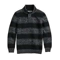 Boys 8-20 Urban Pipeline™ Striped Mockneck Sweater