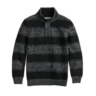 Boys 8-20 Urban Pipeline? Striped Mockneck Sweater