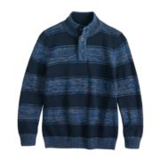 Boys 8-20 Urban Pipeline? Striped Mockneck Sweater