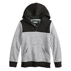 Boys 8-20 Urban Pipeline™ Quarter-Zip Pull-Over Hoodie