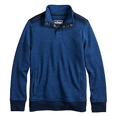 Boys 8-20 Urban Pipeline® Fleece Mockneck Sweater