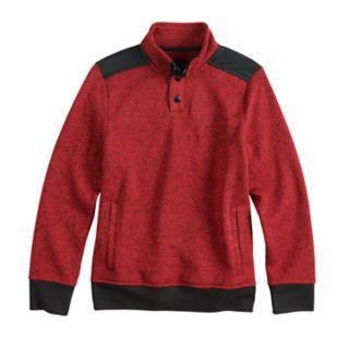 Boys 8-20 Urban Pipeline? Fleece Mockneck Sweater
