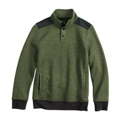 Boys 8-20 Urban Pipeline™ Fleece Mockneck Sweater