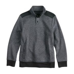 Boys 8-20 Urban Pipeline® Fleece Mockneck Sweater
