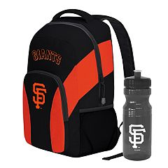 San Francisco Giants Draft Day Backpack with 24-Ounce Pull-Cap Water Bottle by Northwest