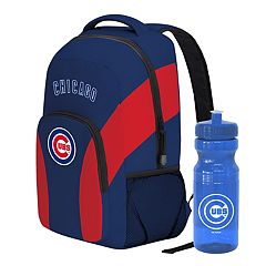 Chicago Cubs Draft Day Backpack with 24-Ounce Pull-Cap Water Bottle by Northwest