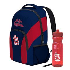 St. Louis Cardinals Draft Day Backpack with 24-Ounce Pull-Cap Water Bottle by Northwest