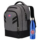 Chicago Cubs Razor Backpack with 18-Ounce Water Bottle by Northwest