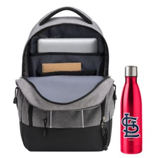 St. Louis Cardinals Razor Backpack with 18-Ounce Water Bottle by Northwest