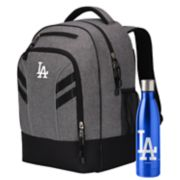 Los Angeles Dodgers Razor Backpack with 18-Ounce Water Bottle by Northwest