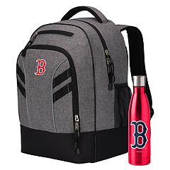 Boston Red Sox Razor Backpack with 18-Ounce Water Bottle by Northwest