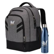 Milwaukee Brewers Razor Backpack with 18-Ounce Water Bottle by Northwest