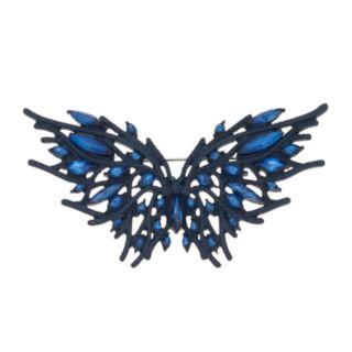Simply Vera Vera Wang Blue Simulated Crystal Butterfly Pin