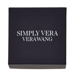 Simply Vera Vera Wang Simulated Crystal Feather Pin