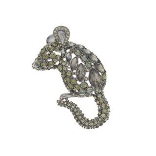 Simply Vera Vera Wang Simulated Crystal Mouse Pin