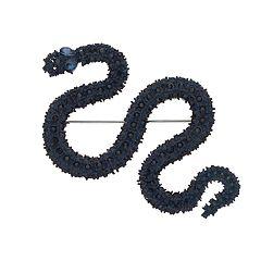 Simply Vera Vera Wang Blue Simulated Crystal Snake Pin