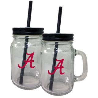 Alabama Crimson Tide Mason Jar Set