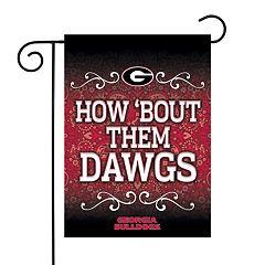 Georgia Bulldogs Garden Flag with Pole