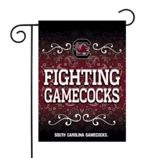 South Carolina Gamecocks Garden Flag with Pole