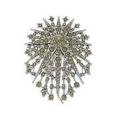 Simply Vera Vera Wang Simulated Crystal Starburst Pin