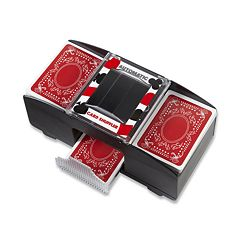 Wembley Automatic Card Shuffler & Deck of Cards 2-piece Set