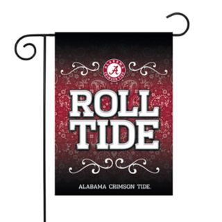 Alabama Crimson Tide Garden Flag with Pole