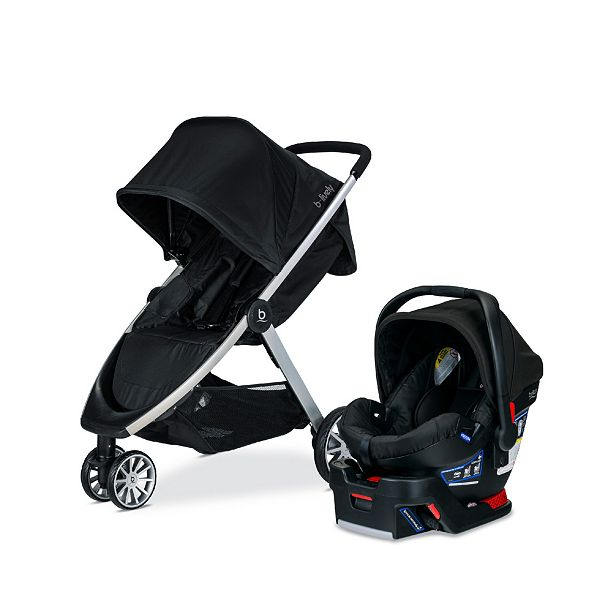 Britax B Lively Travel System With, Britax B Safe 35 Infant Car Seat Base
