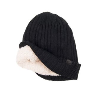 Men's Dockers® Sherpa-Lined Ribbed Cuffed Beanie