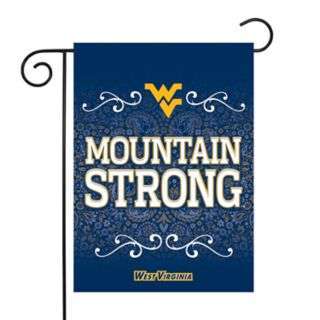 West Virginia Mountaineers Garden Flag with Pole