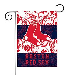 Boston Red Sox Garden Flag with Pole