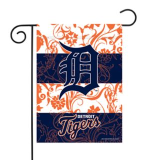 Detroit Tigers Garden Flag with Pole