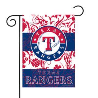 Texas Rangers Garden Flag with Pole