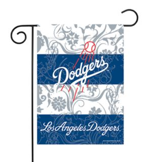 Los Angeles Dodgers Garden Flag with Pole