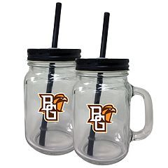 Bowling Green Falcons Mason Jar Set