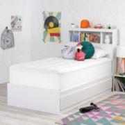 Owls & Larks Plush Mattress Pad & Gel Memory Foam Mattress Topper Set