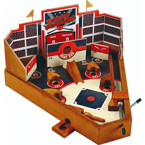 Wembley Wooden Baseball Pinball Game