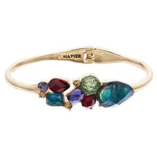 Napier Cluster Crystal Cuff Bracelet