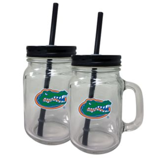 Florida Gators Mason Jar Set