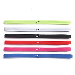 Girls 7-16 Nike 6-pack Solid Hairband Headbands